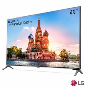 "Smart TV 4K LG 49UJ7500 LED 49"" Nano Cell™ Display, webOS 3.5, Controle Smart Magic - R$ 2831"