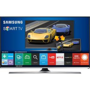 Smart TV LED 40 Samsung 40J5500 Full HD com Conversor Digital 3 HDMI 2 USB Wi-Fi Integrado Funcao Game - Energia Elétrica - Bivolt R$ 1649,00