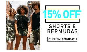 15% OFF em shorts e bermudas na Youcom