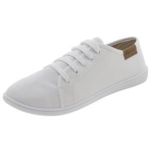Tênis Feminino Casual Branco Moleca - R$ 50