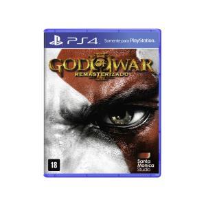 Game God Of War III Remasterizado PS4 - R$26,17
