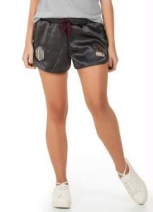Shorts em Oxford Modelo Boxer Chumbo R$20