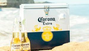 Compre o Cooler da Corona a partir de R$ 99 (no combo de R$ 504)