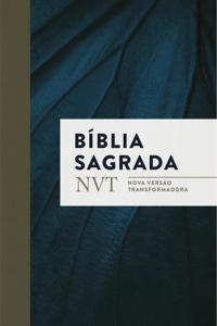 Bíblia Nvt Sagrada - Azul Marinho (Letra Normal/Brochura C/ Orelhas)  17,90