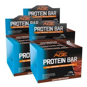 Caixa Barra de Proteina NUTRILATINA - Compre 2 leve 3 por R$112