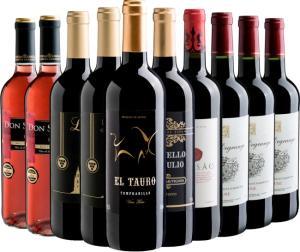 Kit de vinhos 10 por 199 da Evino - R$199