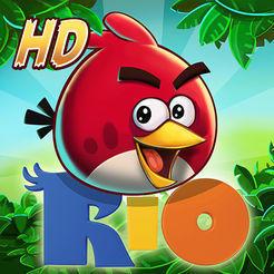 Jogo Angry Birds Rio HD [Grátis iOS]