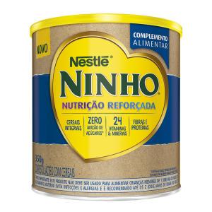 Ninho Nutrição Reforçada Composto Lácteo com Cereais 350g - R$9