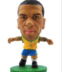 Boneco Minicraque CBF Soccerstarz - Daniel Alves - 02 - Creative ((R$2,90))