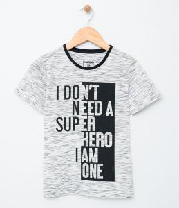 Camiseta Infantil (Tam 5 ao 14) R$10