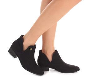 Ankle Boots Feminina Via Marte (Preto) R$100