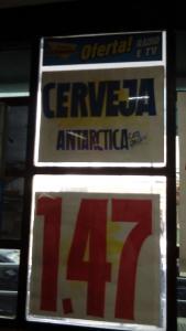 (Loja Fisica/RJ) Supermercados Guanabara - Cerveja Antartica lata 269ml - R$1,47