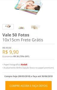 50 fotos 10x15 + frete grátis photo via Paypal - R$10