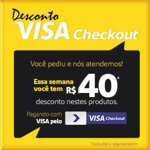 [Visa CheckOut] R$40 OFF em produtos selecionados da Semana do Consumidor no Extra