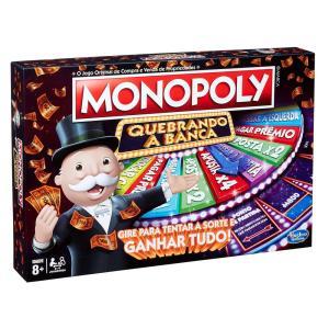 Jogo Monopoly Hasbro Quebrando a Banca - R$31