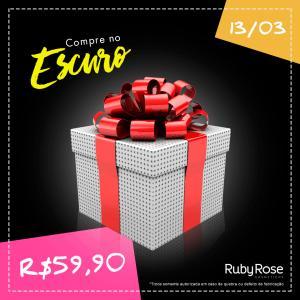 Caixa Misteriosa Ruby Rose - R$59,90