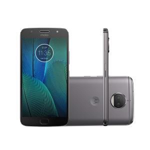 Smartphone Motorola Moto G5s Plus XT1802 32GB Platinum 4G por R$ 910