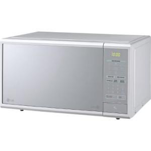 Forno Micro-ondas LG Easy Clean 30L Prata Frente Espelhado MS3059L - R$297
