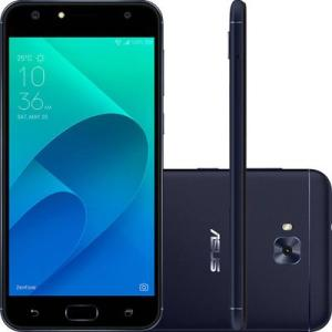 "Smartphone Asus Zenfone 4 Selfie ZD553KL-5A090BR 5,5"" 64GB 16MP 4G Preto - R$ 1034"