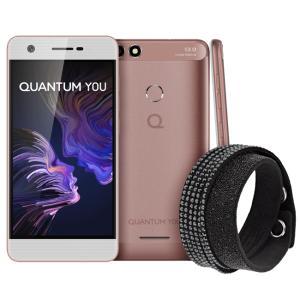 Quantum Smartphone YOU Swarovski 32GB - Rosa