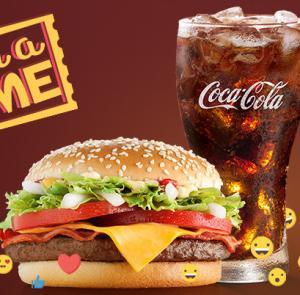 McDonald's Bateu a Fome (das 15h às 18h) - McNifico Bacon + Bebida 500ml - R$17
