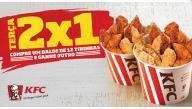 Compre um balde de frango e leve outro KFC - R$30