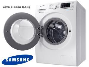 Lava e Seca Samsung 8,5kg WD4000 - 12 Programas de Lavagem Água Quente