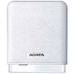 Carregador Portátil ADATA Power Bank 10.000mAh, Branco - R$80