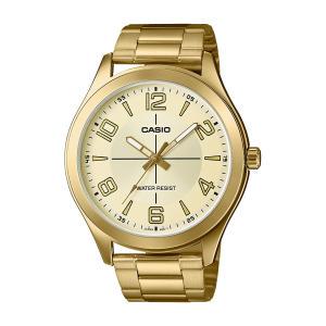 Relógio Casio Masculino Dourado Analógico MTP-VX01G-9BUDF - R$119