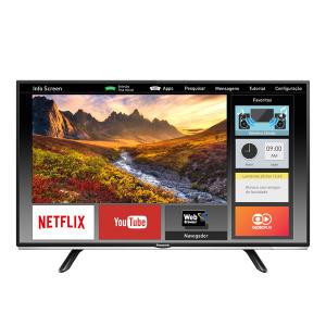 "Smart TV LED 40"" Panasonic Viera TC-40DS600B Full HD  por R$ 1386"