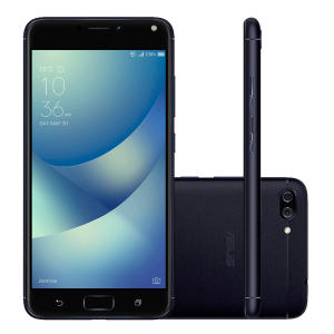 Smartphone Asus Zenfone 4 Max ZC554KL-4A013BR 32GB Black - R$879