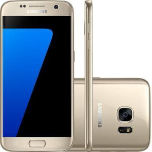 """CARTÃO SUBMARINO - Smartphone Samsung Galaxy S7 Android 6.0 Tela 5.1"""" 32GB 4G Câmera 12MP - R$1410"""