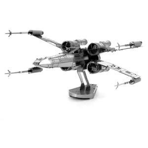 X-wing Warplane Puzzle de Metal 3D - Star Wars - R$8,33
