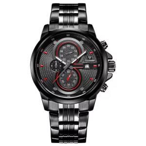 Novo Cadisen Relógio Masculino Quartzo, em Aço Inoxidável - R$76,91
