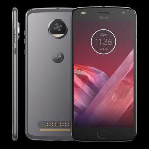 Smartphone Motorola Moto Z2 Play XT1710 Platinum - Dual Chip Android 7.0 Tela 5.5´´ 64GB Compatível Com Snaps Motorola R$1277