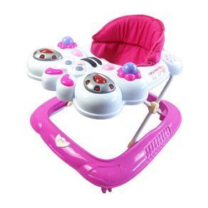 Andador Baby Style Bichos Abelha Rosa ou Azul - R$149,90