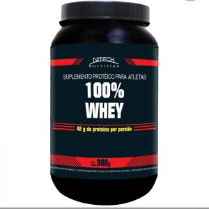 100% Whey - 900g - Nitech Nutrition - R$54
