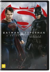 Batman Vs Superman - A Origem da Justiça - DVD - R$14