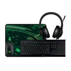 [Visa Checkout] Bundle Razer Holiday Gaming (Mouse, teclado, Headset, Mousepad) - R$494