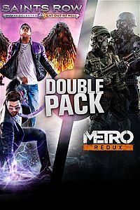 Pacote Duplo (Saints Row + Metro) - R$27,25 p/ Live Gold