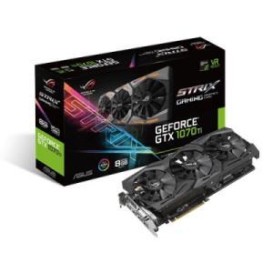 PLACA DE VIDEO ASUS GEFORCE GTX 1070 TI STRIX ROG-STRIX-GTX1070TI-8G-GAMING 8GB GDDR5 PCI-EXP - R$ 2635