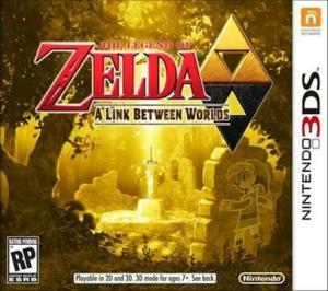 The Legend of Zelda A Link Between Worlds - 3DS - 130R$