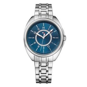 Relógio tommy hilfiger feminino aço - 1781698 - R$412