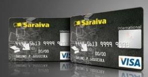 Cartão Saraiva Visa Internacional - Anuidade Grátis