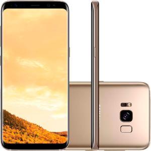Smartphone Samsung Galaxy S8, 64GB, Dual Chip, Câmera 12Mp, Octa-Core, Dourado - G950F. R$ 2.849,05