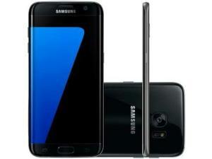 "Smartphone Samsung Galaxy S7 Android 6.0 Tela 5.1"" 32GB 4G Câmera 12MP - Preto"