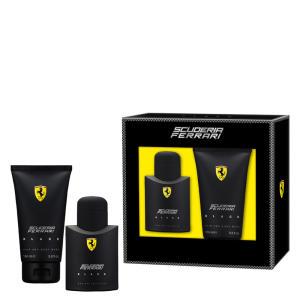 Kit Ferrari Black (Perfume + Gel de Banho) - R$164
