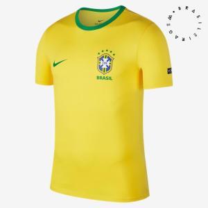 Camiseta Nike Brasil 2018 Crest - R$129