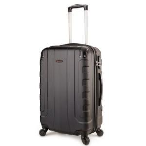 Mala Pequena Whistler 10602P em ABS, Rigida, Giro 360º, Cadeado, Compartimento Interno Preto- Baggage. R$ 139,90