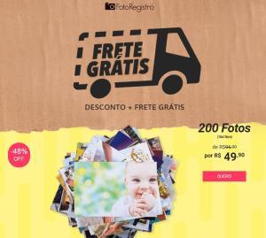 Foto Registro : 200 fotos + frete - R$49,90